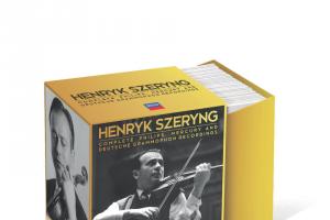 Radio 3mbs – Win Box Set of The Month – Henryk Szeryng's Complete Philips Mercury & Deutsche Grammophon Recordings