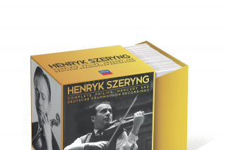 Radio 3mbs – Win Box Set of The Month – Henryk Szeryng's Complete Philips Mercury & Deutsche Grammophon Recordings