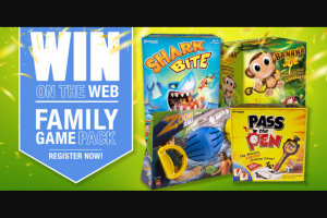 "River1467 Mildura – Win a ""family Games Pack"" Valued at Over $150 (prize valued at $150)"