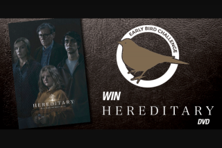 River1467 Mildura – Win Hereditary on DVD Thanks to Universal Sony Pictures Home Entertainment and Enter The Draw for $50 to Spend at The Dockside Café.