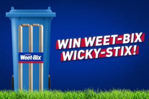 Sanitarium Weet-Bix – Win 1 of 2000 Wicket Stickers
