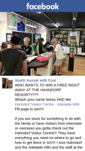 South Aussie With Cosi – Win a Free Night Away at The Hahndorf Resort??