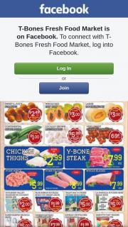 T-Bones Fresh Food Market Aspley – Win $50 Or $100 Credit Instore