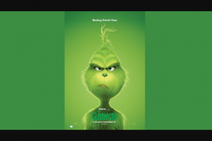 The West Australian – Win a Grinch Gift Pack Including a Stationery Set
