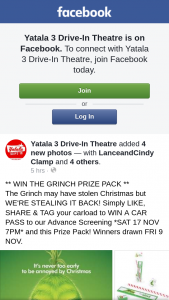 Yatala 3 Drive-In – Win The Grinch Prize Pack