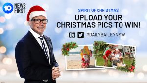 10 Daily – Spirit of Christmas – Win a 7-night accommodation at the Breakers apartments in Surfers' Paradise (flights not included)