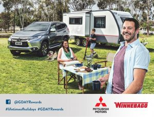 Australian Park – G'Day Rewards – Lifetime of Holidays – Win a prize package valued at up to $131,099