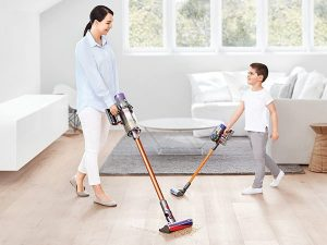 Babyology – Win 1 of 5 Dyson Cyclone V10 vacuums valued at $999 plus a toy vacuum for kids
