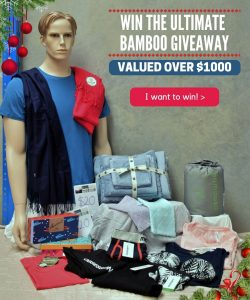 Bamboo Village – Win the Ultimate Bamboo prize pack valued at $1,000