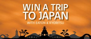 Eaton & Kyoritsu – Win an 8-day tour of Japan for 2 valued at $8,000