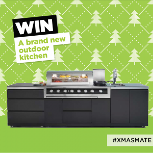 Gas Mate – #XmasMate – Win a major prize of a Gasmate Galaxy Black valued at $5,000 OR 1 of 5 weekly prizes of a Gasmate Voyager Grill valued at $129 each