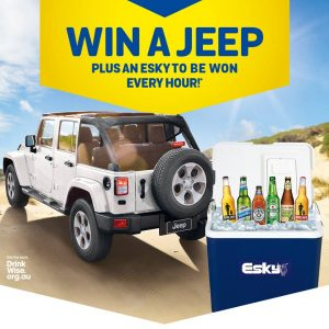 Lion-Beer, Spirits & Wine – Win a major prize of a brand new Jeep Wrangler Unlimited Sport 2019 automatic valued up to $47,950 OR many other minor prizes