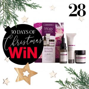 MindFood – 30 Days of Christmas Giveaways – Win 1 of 6 Trilogy Age-Proof Brilliantly Boosted Deluxe Celebration sets valued at over $52 each