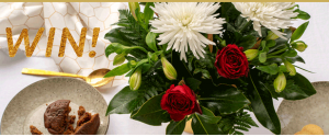 The Gift of Giving – Win a Christmas bouquet for yourself and a $1,000 donation to the charity of your choice