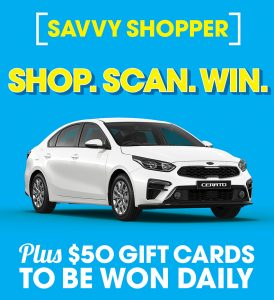 The Reject Shop – Win a MY19 DB Kia Cerato Sedan with automatic transmission valued at up to $21,550