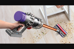 Babyology – Win 1 of 5 Dyson Cyclone V10 Vacuums Worth $999 Plus a Toy Vacuum for The Kids (prize valued at $4,995)