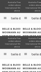 Belle and Bloom – Competition (prize valued at $1,000)