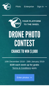 Birdi – Win The Weekly $100 Prize (prize valued at $1,600)