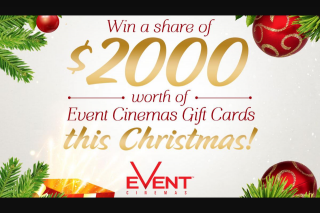 Brisbane NOVA 106.9FM – Win a $200 Event Cinemas Gift Card this Christmas