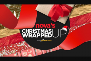 Brisbane Nova 106.9FM – Win Yourself an Early Christmas Present With Nova's Wrapped Up