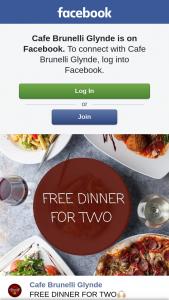 Cafe Brunelli Glynde – a Free Dinner for Two (prize valued at $80)