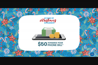 Canstar Blue 12 Days of Christmas – Win $50 &#10024 (prize valued at $50)