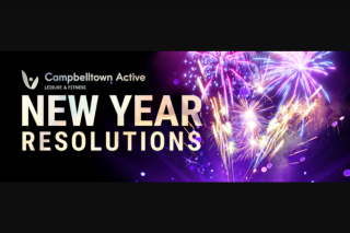 C913fm Campbelltown – Win a 12 Month Membership to Campbelltown Active By Simply Telling Us Your New Year's Resolutions