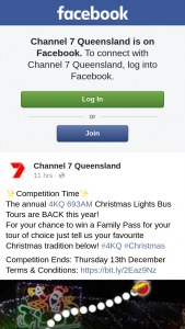 Ch 7 Queensland – Win a Family Pass for Your Tour of Choice Just Tell Us Your Favourite Christmas Tradition
