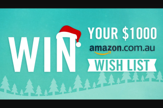 Channel 7 – Sunrise- Channel 7/ Amazon – Win Their Entire Wish List Each Day for Five Days