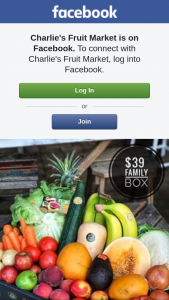 Charlie's Fruit Market – Win this Family Box