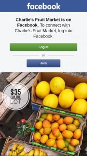 Charlie's Fruit Market – Win this Fruit Bundle Giveaway @charliesfruitmarket (prize valued at $35)