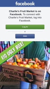 Charlie's Fruit Market – Win this Ugly Fruit N Veg Box