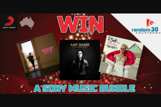 ChilliFM – Win a Sony Music Christmas Bundle Including New Albums From Amy Shark