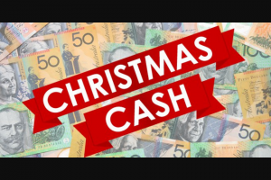 Coastlive 97.3 WA – Win $1000 Cash for Christmas/online Or Listen to Win (prize valued at $1,000)