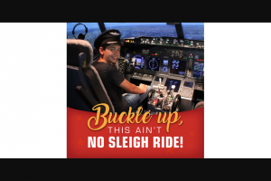Community News – Win One of Two 45-minute City Circuits Flight Experience Packages