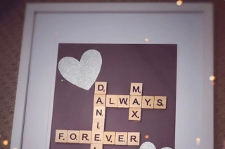 D Luxe Designs – Win a Scrabble Frame (prize valued at $50)