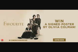 Dendy – Win 1 of 2 A3 Posters Signed By Olivia Colman