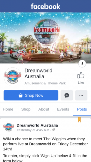 Dreamworld Australia – Win a Chance to Meet The Wiggles When They Perform Live at Dreamworld on Friday