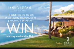 Forever New – 'win a Trip to Bali' to Enter (prize valued at $2)