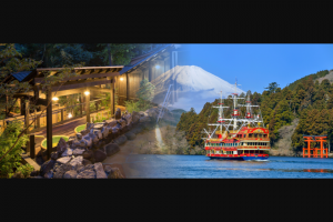 G'Day Japan – Win a Romantic Getaway to Hakone (prize valued at $2,170)