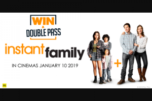 7hofm TAS – Win a Double Pass to Instant Family