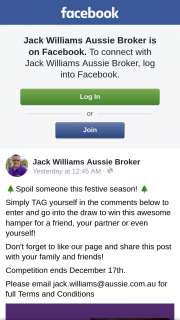 Jack Williams Aussie Home Loans Broker – Win this Awesome Hamper for a Friend