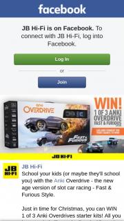 JB HiFi – Win 1 of 3 Anki Overdrives Starter Kits (prize valued at $199)