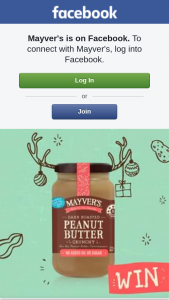 Mayver's – Win a Month's Supply of Mayver's Peanut Butter Goodness
