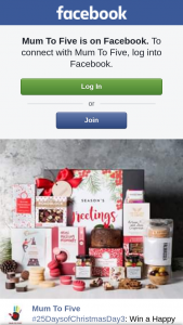 Mum to Five – Win a Happy Christmas Hamper Thanks to Gourmet Basket (prize valued at $125)