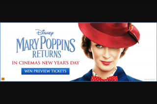 MyGC – Win Tickets to a Preview Screening of Mary Poppins Returns @event Cinemas Pacific Fair