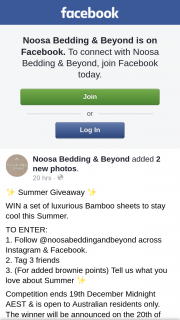 Noosa Bedding & Beyond – Win a Set of Luxurious Bamboo Sheets to Stay Cool this Summer