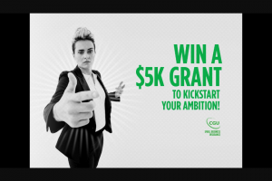 NOVAFM – Win a $5k Grant to Kickstart Your Ambition Thanks to Cgu (prize valued at $25,000)