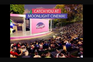 NovaFM – Win Tickets to Moonlight Cinema