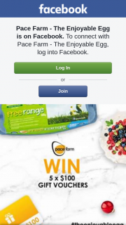 Pace Farm The Enjoyable Egg – Win One of Five $100 Gift Cards
